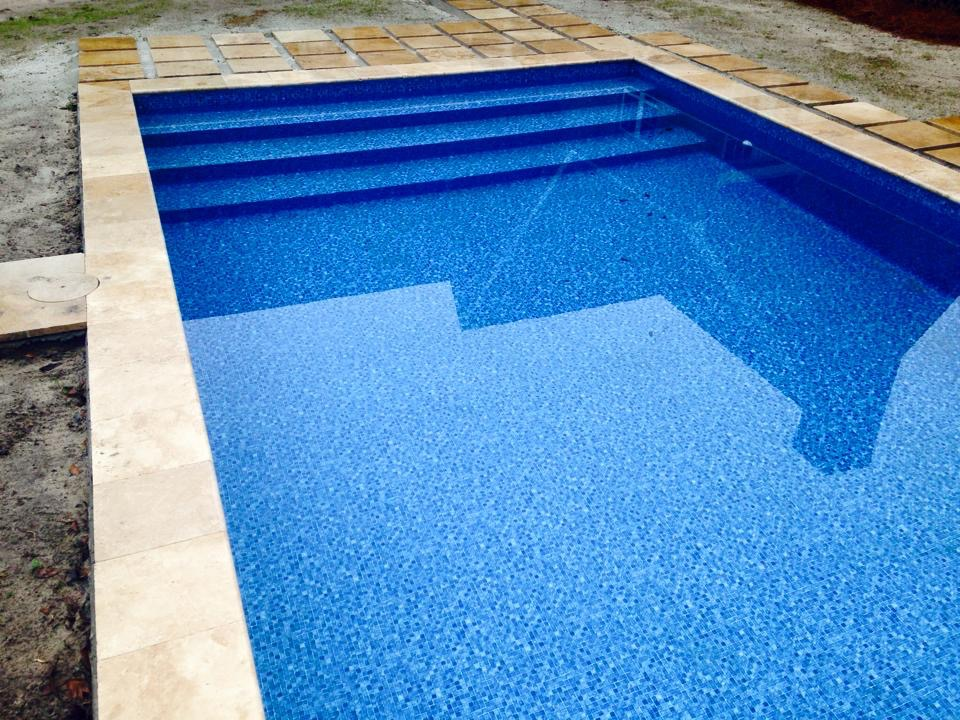 Vinyl Liner Pool | Liner Over Step