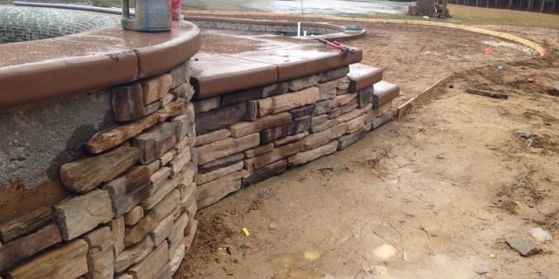 Custom Pool Construction | Concrete Pools | Custom Spa | Statesboro, Ga | Thompson Pools