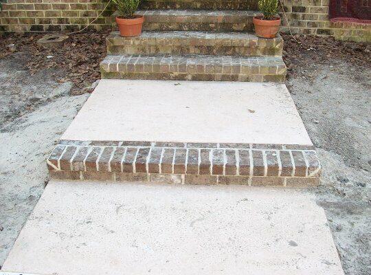 Outdoor Living | Brick Steps | Statesboro, Georgia | Thompson Pools and Supply