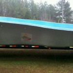 Fiberglass Pool Delivery | Fiberglass Pool Installation | Statesboro, Georgia | Thompson Pools