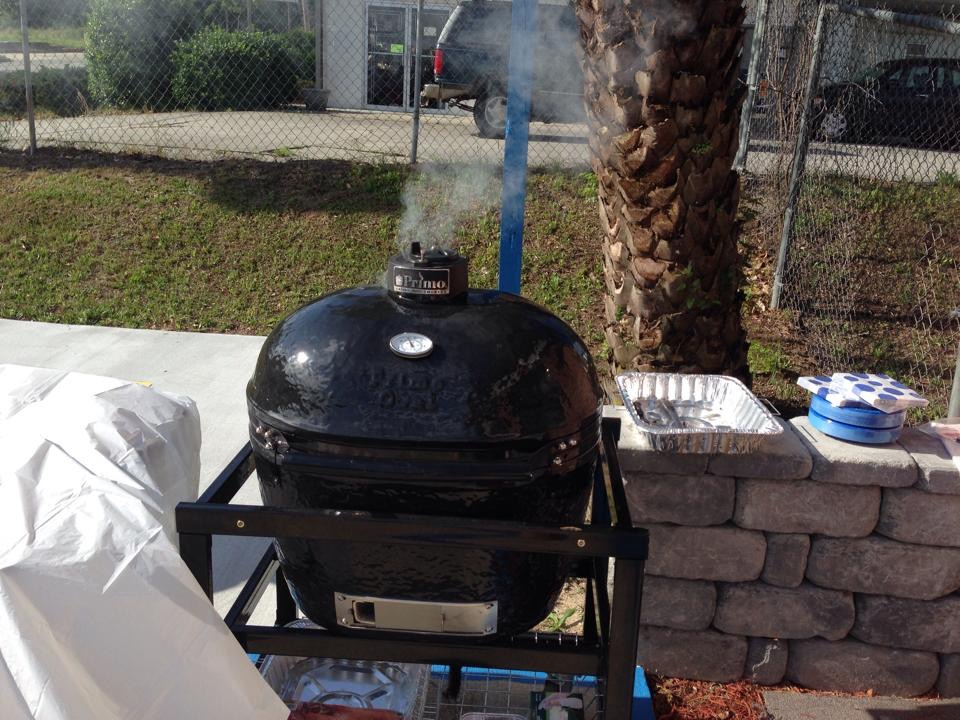 Primo Grill | Ceramic Grill | Customer Appreciation Grill Out