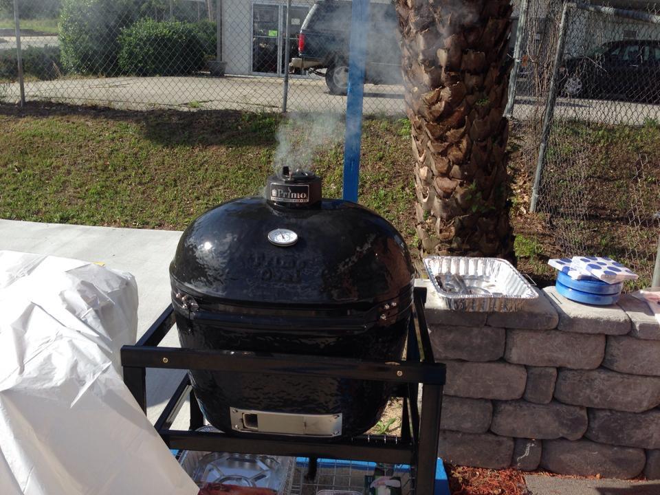 Primo Grill | Ceramic Grill | Custom Outdoor Kitchen | Statesboro, Ga | Thompson Pools