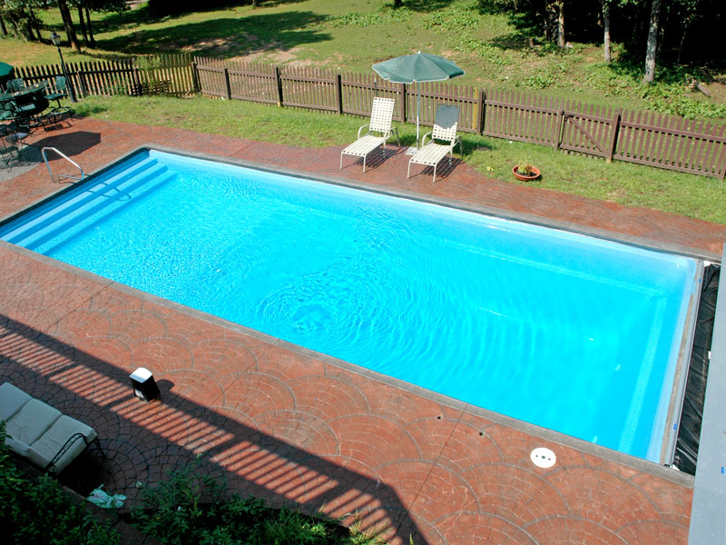 Fiberglass Pool  Athens  Thompson Pools Statesboro GA
