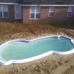 Fiberglass Pool Construction| Fiberglass Pool| Pool Installation| Statesboro, Georgia| Thompson Pools