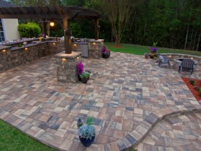 Outdoor Pavers | Patio | Custom Patio | Statesboro, GA | Thompson Pools