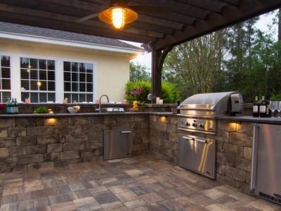 Outdoor Kitchen | Outdoor Living | Grill | Thompson Pools | Statesboro, GA