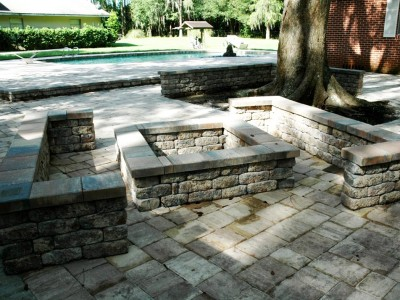 Fire Pits | Outdoor Fire Places | Thompson Pools | Statesboro GA